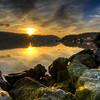 Sunrise Explosion, Cowichan Bay
