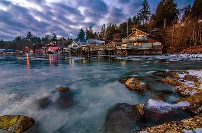Cowichan Bay Frozen