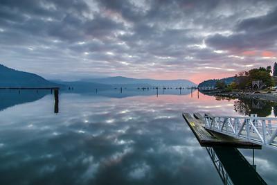 Cowichan Bay Reflections 2
