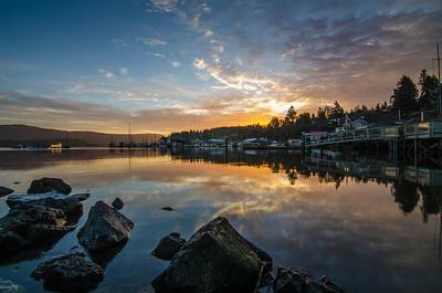 Shared Sunrise in Cowichan Bay 2