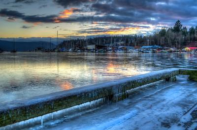 Cowichan Bay Frozen 2