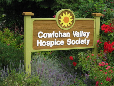 Cowichan Hospice Sign