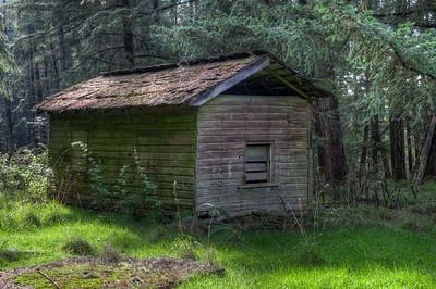 Farm Outbuilding - Cowichan Valley, Vancouver Island, British Columbia, Canada