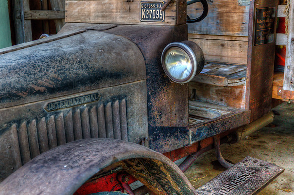 International Truck - Cowichan Valley, Vancouver Island, BC, Canada