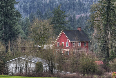 Cowichan Valley Farm - Cowichan Valley, Vancouver Island, British Columbia, Canada