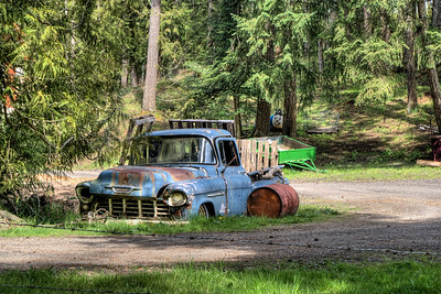 """Farm - Cowichan Valley BC Canada Visit our blog """"One Truck Pony"""" for the story behind the photo."""