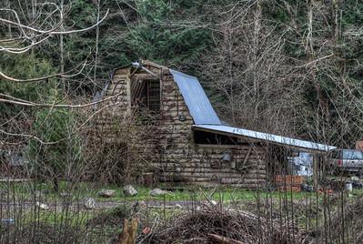 Barn - Sooke, Vancouver Island, British Columbia, Canada
