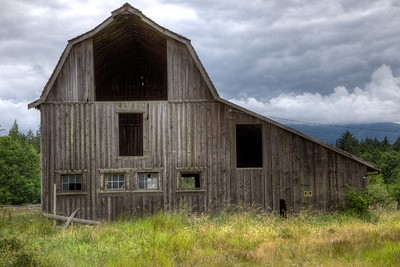 "Old Wooden Character Barn - Vancouver Island, BC, Canada Visit our blog ""A Barn Like No Other"" for the story behind the photo."