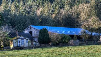 Barn - Cowichan Valley, Vancouver Island, British Columbia, Canada