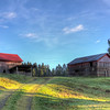Red Barn - Cowichan Valley, Vancouver Island, British Columbia, Canada