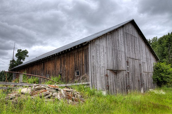 Weathered Barn - Vancouver Island, BC, Canada