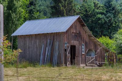 Barn - Cowichan Valley, Vancouver Island, BC, Canada
