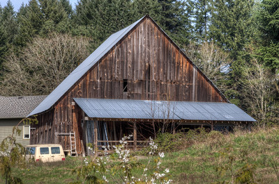 Barn - Yellow Point, Vancouver Island, British Columbia, Canada