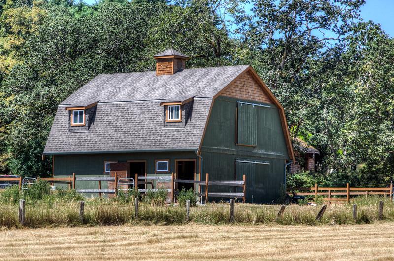 Barn - Metchosin, Vancouver Island, BC, Canada