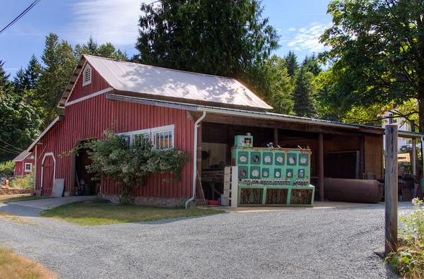 Barn - Vancouver Island, BC, Canada