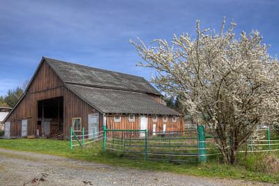 Barn - Vancouver Island, British Columbia, Canada