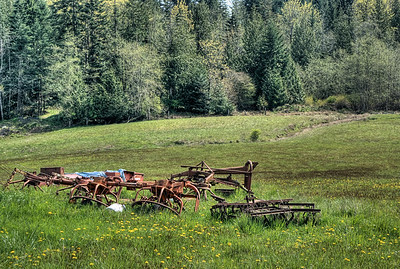 "Farm - Cowichan Valley BC Canada Visit our blog ""One Truck Pony"" for the story behind the photo."