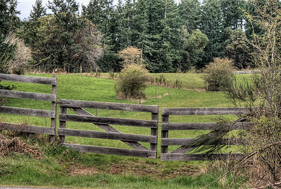 """Farm - Metchosin BC Canada Visit our blog """"Pasture Gate"""" for the story behind the photo."""