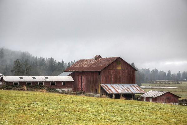 Farm - Cowichan Valley, Vancouver Island, BC, Canada
