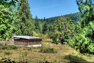 """Farm - Genoa Bay, BC, Canada Visit our blog """"The Hidden Barn"""" for the story behind the photo."""