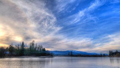 Dougan Lake - December 17, 2010