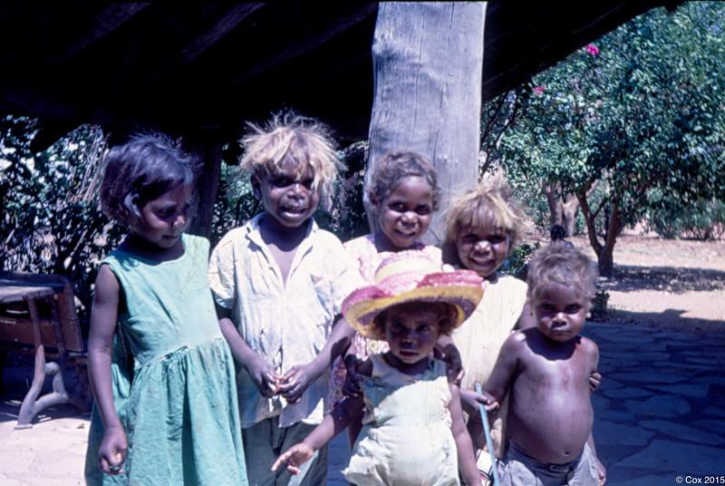 1969 Sharon Bieundurry, Simon George, Miriam Brown, Dora Wise, Jane Bieundurry and Sandy Wise