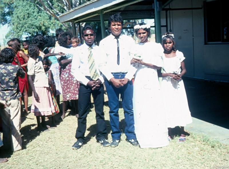 Johnny and Eva Margoodah's wedding
