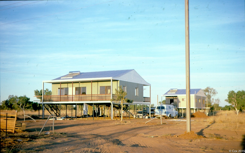 Mulutja homes when first built