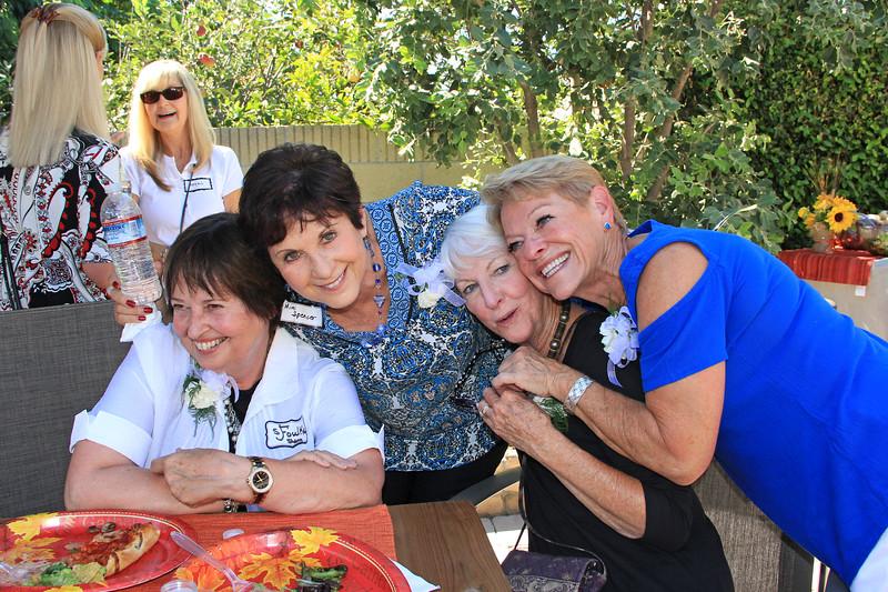 2017-10-07_Cox Reunion_1_Foulke_Spencer_Jones_Jensen.JPG<br /> <br /> <br /> Former Cox School teachers - Sherry Foulke, Mimi Spencer, Judy Jones and Marilyn Jensen