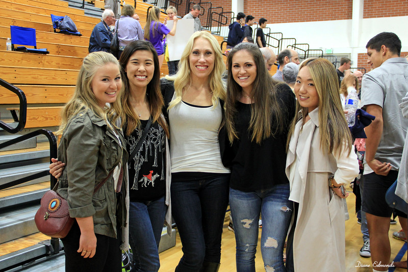 2016-05-07_FVHS Dance Team_2325_Marian_Rina_Stacy_Aundrea_Tera.JPG<br /> <br /> FVHS Dance Team - Spring Show 2016<br /> Alumni dancers with former Coach, Stacy Conley