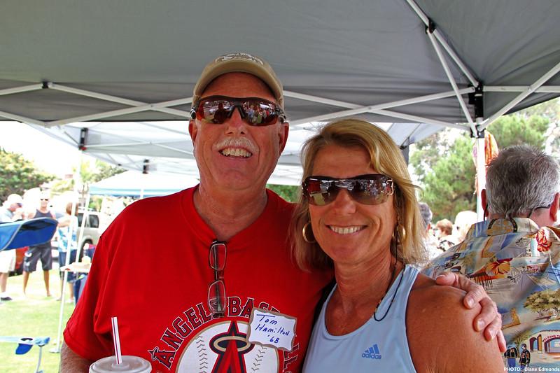 2011-07-31_HBHS Reunion_Tom Hamilton_Donna Wichner_0028