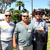HBHS 'All Years' Reunion Picnic - Lake Park<br /> John Pierson, Rich Varalla, Tom Hamilton, Class of 1968