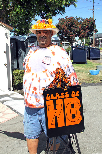 HBHS 'All Years' Reunion Picnic - Lake Park<br /> Bob Schraal, Class of 1970