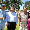 HBHS 'All Years' Reunion Picnic - Lake Park<br /> Mark Pynchon, ?, Neil Zeilenga, Lynn Alvarez McCall - Class of 1972