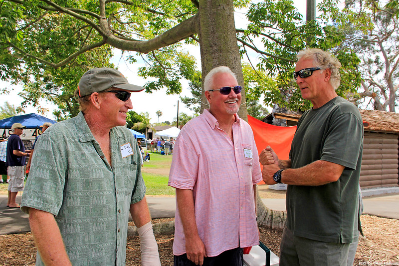 2013-07-28_HBHS Reunion_Hal Cady_Mike Priddy_Jim Worthy_7343.JPG<br /> HBHS All Years Reunion Picnic