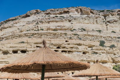 Grottes de Matala - Sud  de l'ile -