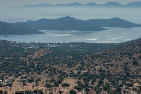En route vers Agios Nikolaos - Nord-Est de l'ile -