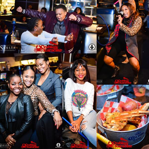 Crablegs and Karaoke @ Suite 12-26-18
