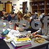 Sycamore High School students work on their clay bowls during art class on Feb. 24. The bowls, created as part of the Empty Bowls Project, will be sold during an event April 19 to raise money for the Sycamore Food Pantry.