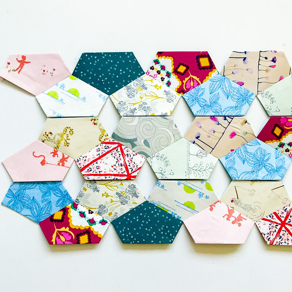 Diamond Quilt English Paper Pieces