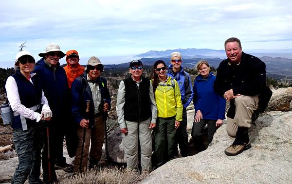 Crafts Peak Hike with Sierra Club, Green Valley Lake CA April 6, 2018