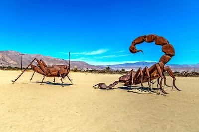 Grasshopper vs. Scorpion