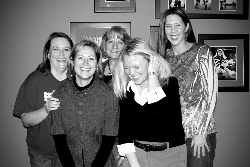 0108 Koch girls get together...  it was a night of laughter!