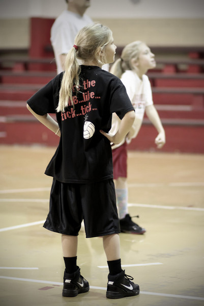 0106 This is a very special little friend of mine.  I stopped in to watch her basketball practice.