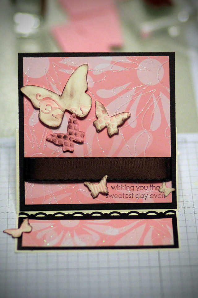 0207 Cute card we made at a Stampin Up workshop.