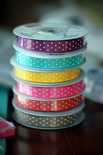 0216 New ribbon from Stampin UP!