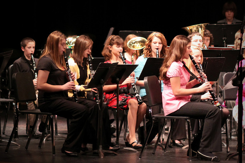0309 Middle School band concert....