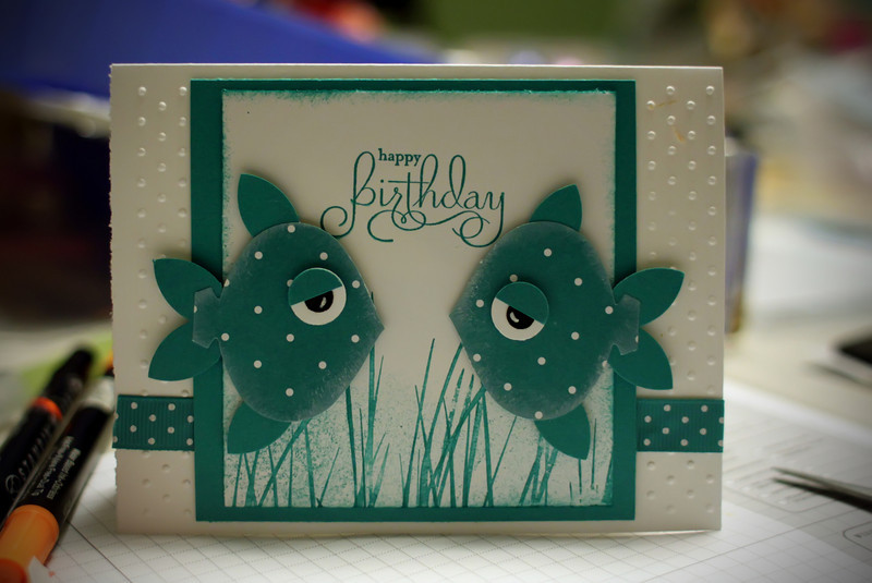 0407 Stampin Up workshop at Liz's.