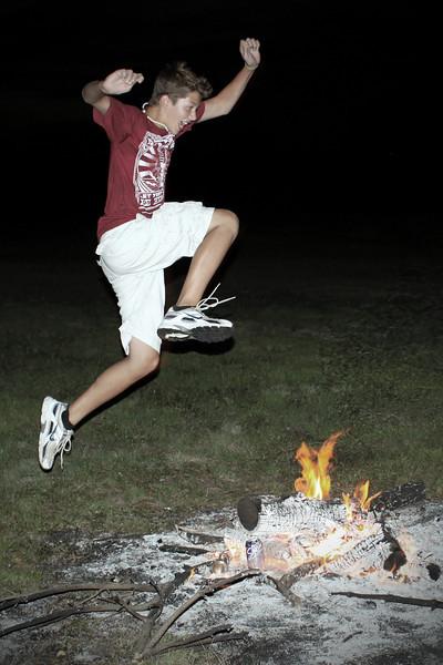 0729 Fire jumping.