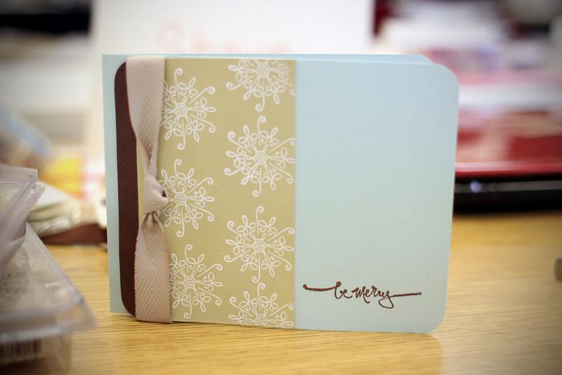 0807 Christmas cards...